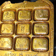 Golden Tablet Movie Prop